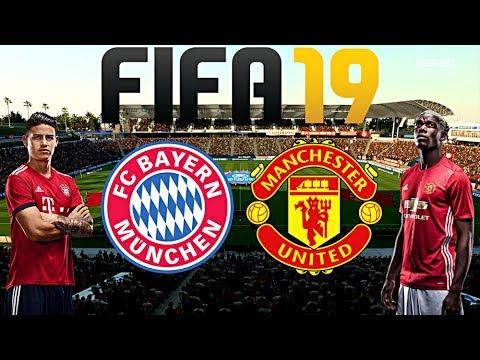 FIFA 19   FC BAYERN MÜNCHEN vs. MANCHESTER UNITED   Saisonvorbereitung ◄FCB #06►