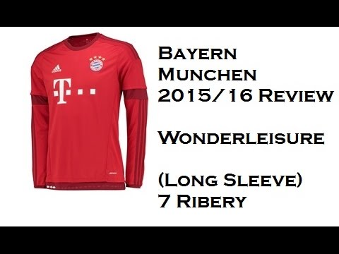 Bayern Munchen 2015/16 Home Kit Review (7 Ribery) | Wonderleisure