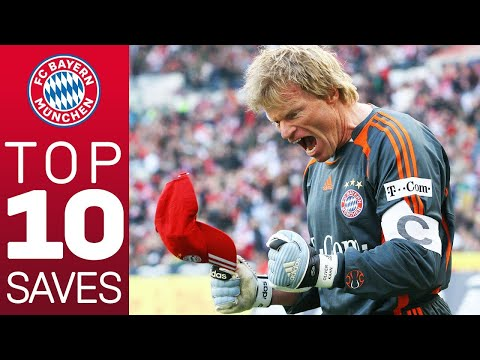 Oliver Kahn – Top 10 Saves for FC Bayern
