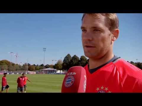 "тренировки вратарей: ""Бавария Мюнхен"" l Goalkeeper Bayern Munchen training"