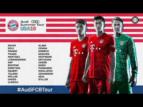 #AudiFCBTour | FC Bayern goes United States! | Trailer