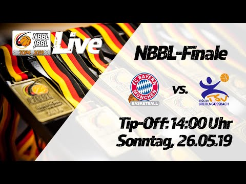 NBBL-Finale FC Bayern München Basketball – TSV Tröster Breitengüßbach