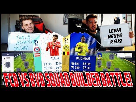 Das heftigste BAYERN vs. DORTMUND Squad Builder Battle vs. WAKEZ!! ⛔️🔥 Fifa 18 Ultimate Team Deutsch