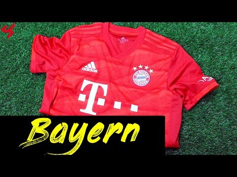 Adidas FC Bayern Munich 2019/20 Home Soccer Jersey Unboxing + Review