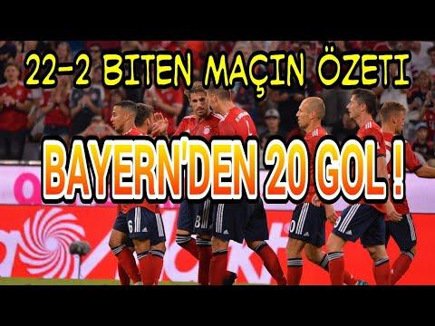 Bayern 20-2 Egern | 22 GOLLÜK MAÇIN ÖZETİ | BAYERN'DEN 22 GOLLÜK MAÇ !