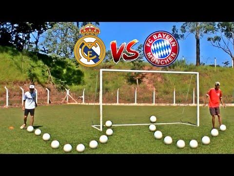 Real Madrid x Bayern Munchen –  Desafios De futebol