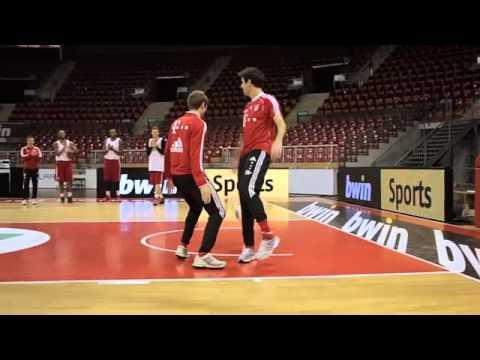 Bayern Münih Futbol Takımı Basketbol Oynarsa (Bayern München Football Team vs Basketball Team)
