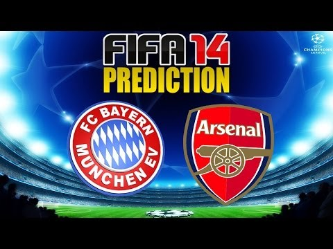 FIFA 14 Predicts Bayern Munich vs Arsenal 11/3/2014