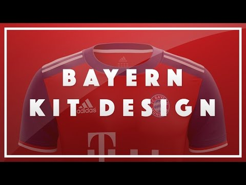 Bayern Munich Shirt Design | Speed Art