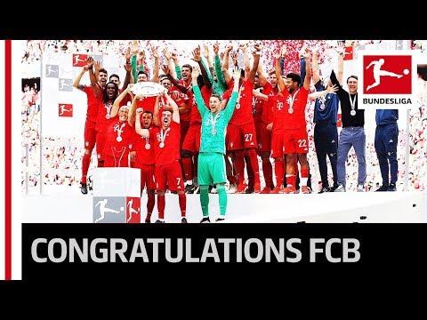 FC Bayern München – 2018/19 Bundesliga Title Celebrations