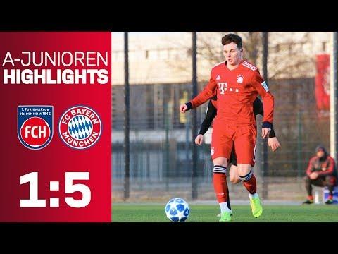 FC Bayern beat 1. FC Heidenheim 5-1! | Highlights – U19 Bundesliga 2018/19