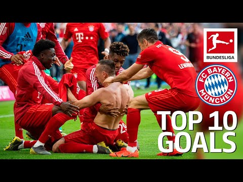 Top 10 Goals FC Bayern München 2018/19 – Lewandowski, James, Robben & More