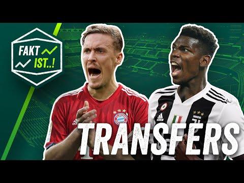 Kruse zum FC Bayern, Philipp zu Gladbach, Pogba zu Juventus? Fakt ist..! Transfer News