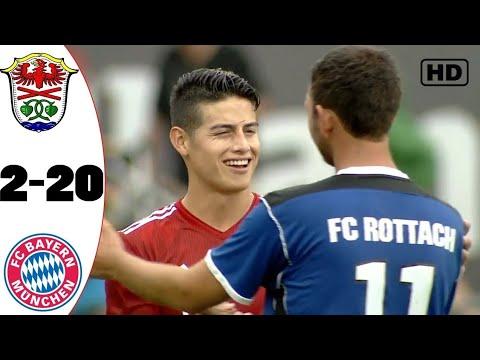 Bayern Münih 20-2 FC Rottach Egern