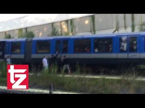 FC Bayern Fans schmoren in der U-Bahn – FC Bayern vs. Manchester City