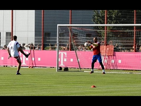 FC Bayern Munich goalkeeper training – Part 2