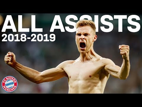 Joshua Kimmich – All Assists for FC Bayern in 2018/19