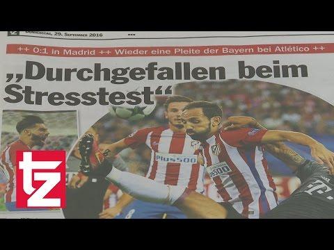 """Atlético Madrid vs FC Bayern: """"Durchgefallen beim Stresstest"""" – Erneute Niederlage in Spanien"""