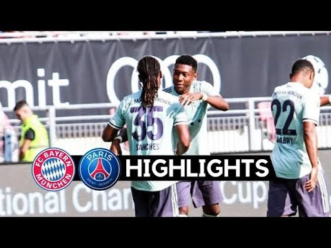 Bayern Munich VS PSG 3-1 highlights HD 21/07/2018