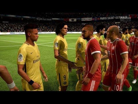 FIFA 18 – FC Bayern Munich Vs. PSG | Full Match