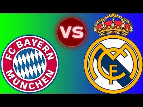Bayern Münich vs. Real Madrid Maçı (Acı Cezalı)