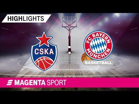 ZSKA Moskau – FC Bayern Basketball | 19. Spieltag, 18/19 | MAGENTA SPORT