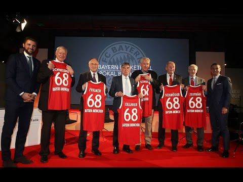 Pokal-Bankett des FC Bayern Basketball