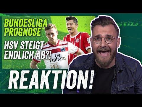 Reaktion: Bundesliga Prognose vor der Saison 2017/18 – FC Bayern, RB Leipzig, HSV