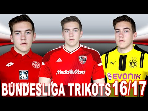 NEUE BUNDESLIGA TRIKOTS 2016/2017 [Bayern München, Borussia Dortmund, …] – meine Meinung