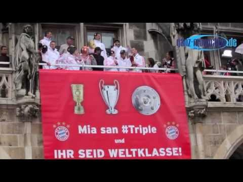 """""""Stern des Südens"""" @ Triple Party des FC Bayern München am 02.06.2013"""