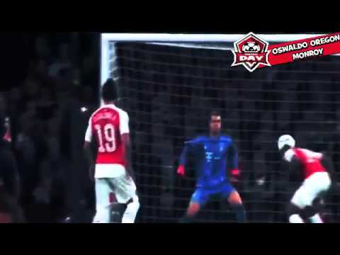 Arsenal vs Bayern Munich 2 0 2015 All Goals and Highlights Champions League 20 10 2015