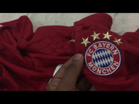 ELMONT YOUTH SOCCER REVIEW: Bayern Munich 16/17 Home Kit