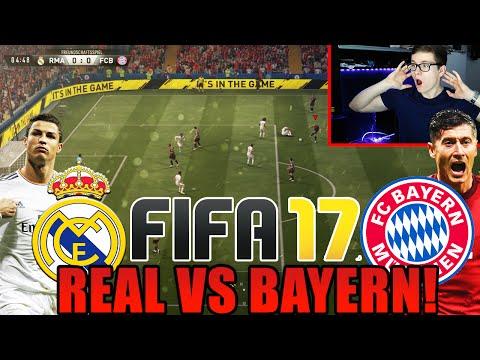FIFA 17 GAMEPLAY – REAL MADRID VS BAYERN MÜNCHEN! (DEUTSCH) – WAS EIN GAME!!!