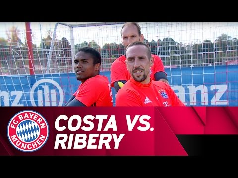Costa vs. Ribéry | Penalty-Challenge | Part 1