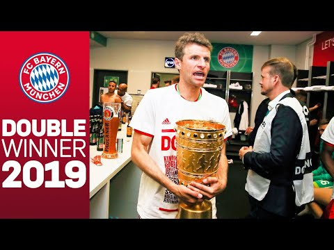 FC Bayern celebrating in Berlin: Behind the scenes at the double party