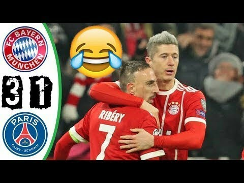 Bayern Munich vs PSG 2017 3-1 RESUMEN Y GOLES ALL GOALS Y HIGHLIGHTS Champions 5-12-17 HD