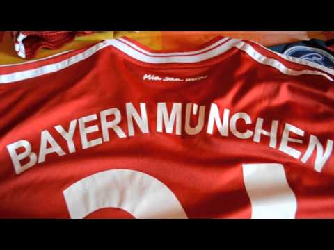 ENG – FC BAYERN MÜNCHEN / Munich Bavarian home & Champions League THIRD KIT FUTEBOL