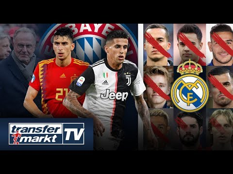 Bayern-Plan mit 18 Feldspielern? Cancelo & Roca im Visier – Reals Verkaufskandidaten | TRANSFERMARKT