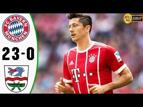 Bayern Múnich 23 – 0  FC Rottach-Egern | TODOS LOS GOLES