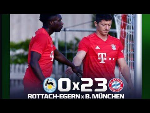 Goleada Histórica… Bayern de Munique 23 x 0 Rottach