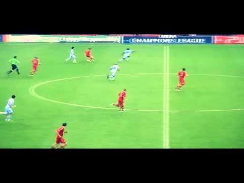 Ribery dribble vs Kun Aguero and Richards – fc bayern vs manchester city 2:0