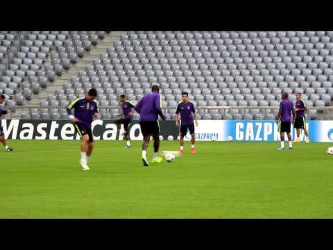 FC Bayern vs. Manchester City: Abschlusstraining der Engländer