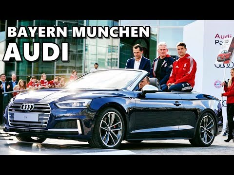 New Audi Models for FC Bayern München Players