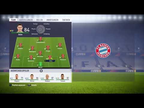 FC Bayern Kader 2018/19 Analyse