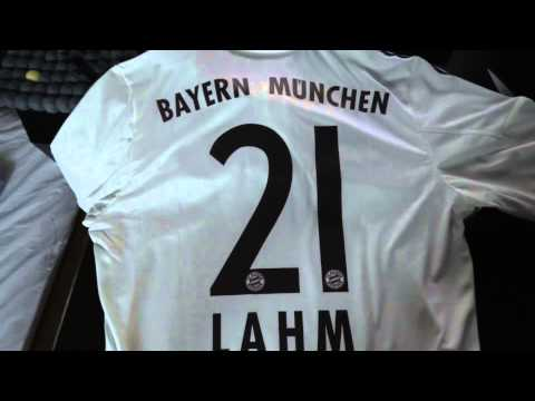 FC Bayern adidas jersey unboxing – away 2013/14