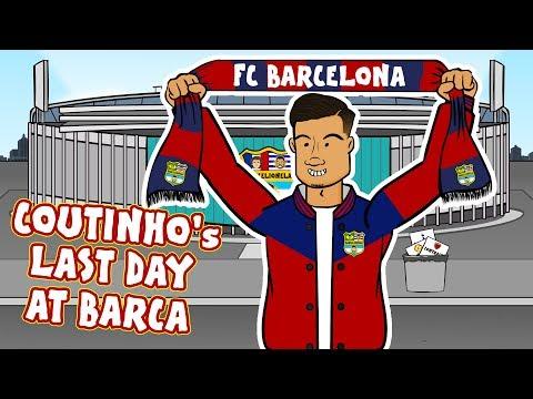 👋Coutinho's Last Day at Barcelona!👋 (Coutinho Bayern Munich Loan Parody)