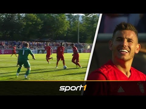 23:0! Hernández feiert Debüt bei Schützenfest des FC Bayern | SPORT1