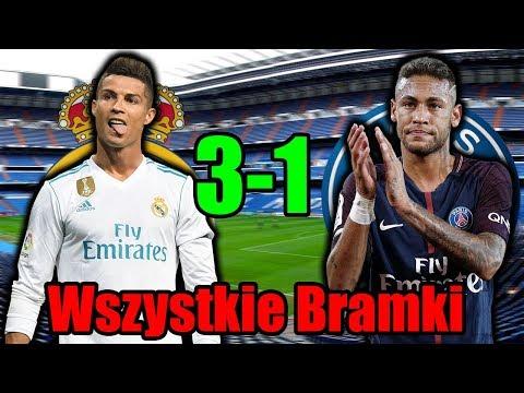 Real Madryt vs PSG 3-1 Wszystkie Bramki 14/02/2018