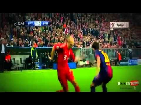 Bayern Munich Vs Barcelona 7-0 All Goals & Full Match Highlights 05.01.2013