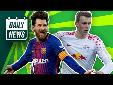 Neuer Keeper für Augsburg? Leipzig-Star zum FC Bayern? Messi bricht Rekorde! Schalke stolpert weiter